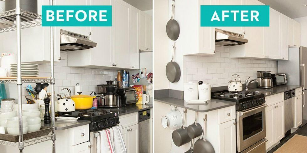 These Kitchen Organisation Before And After Photos Will