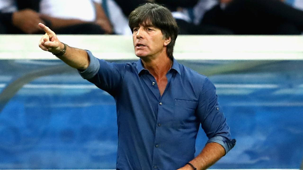 Joachim Low expects his players to show signs of progress when they meet Chile in their second Group B match at the Confederations Cup.