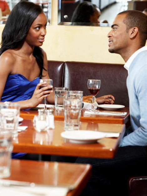 On a bad date? Let him down easy.