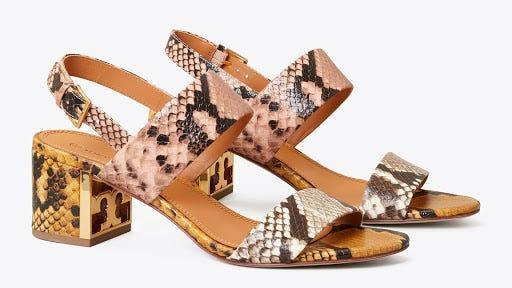 Choose from two pretty prints in these shoes.