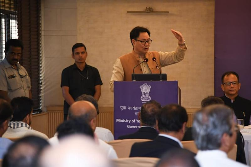 Sports Minister Kiren Rijiju Says Sports Bodies Can Organise Events Given SOP is Followed