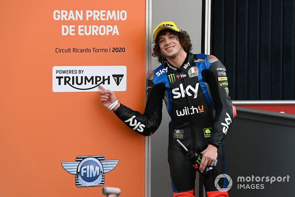 "Marco Bezzecchi, Sky Racing Team VR46<span class=""copyright"">Gold and Goose / Motorsport Images</span>"