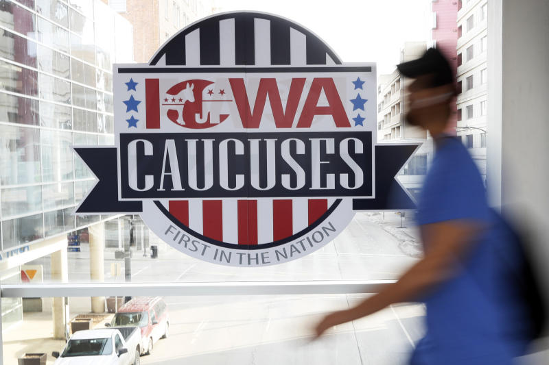 Election 2020-Iowa Caucuses