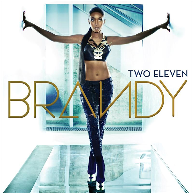 """This CD cover released by RCA/Chameleon Records shows the latest release by Brandy, """"Two Eleven."""" (AP Photo/RCA/Chameleon Records)"""