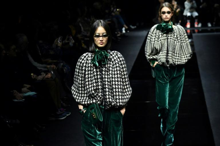 Armani was forced to move its show at the February 2020 Milan Fashion Week behind closed doors as coronavirus took hold in nearby Codogno