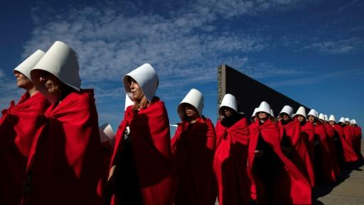"""""""The Handmaid's Tale"""" has become a feminist rallying point for the #MeToo generation"""