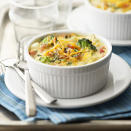 """<p>Make this quick and easy casserole for Sunday brunch or breakfast any day of the week! <a href=""""http://www.eatingwell.com/recipe/262860/egg-and-potato-casserole/"""" rel=""""nofollow noopener"""" target=""""_blank"""" data-ylk=""""slk:View recipe"""" class=""""link rapid-noclick-resp""""> View recipe </a></p>"""