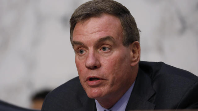 """Sen. Mark Warner of Virginia, the top Democrat on the Senate Intelligence Committee, said just """"the tip of the iceberg"""" has been revealed about Russia's use of targeted ads on Facebook to influence the 2016 presidential campaign."""