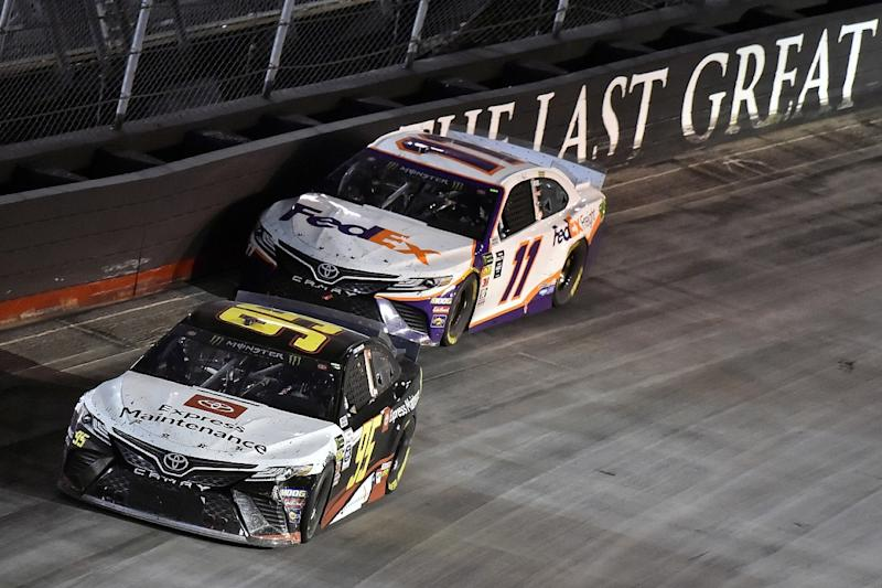 Hamlin comes from two laps down for Bristol win