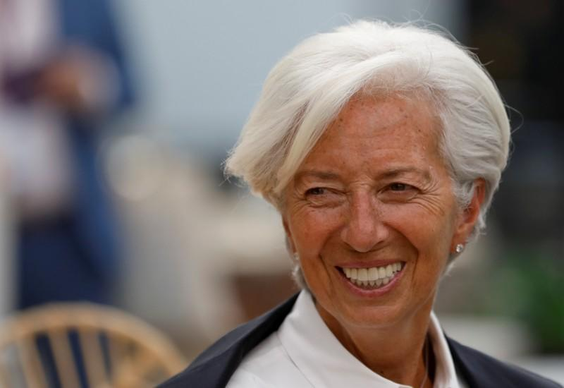 ECB's Lagarde will echo Draghi's stance, but QE won't help growth, economists say - Reuters poll