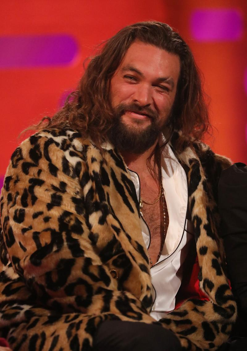 Jason Momoa treated Saturday Night Live fans to a surprise cameo. (Photo: Isabel Infantes/PA Images via Getty Images)