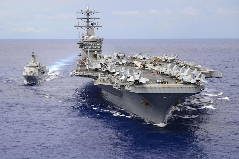 Nimitz Becomes 4th Aircraft Carrier with COVID-19 Case: Report