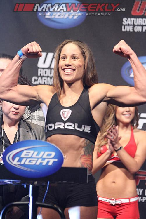 UFC 157 Rousey vs. Carmouche Weigh-in Results: History in the Making