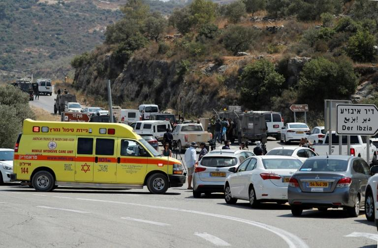 The bomb exploded near the Israeli settlement of Dolev in the occupied West Bank on Friday, killing one Israeli and seriously wounding her father and brother