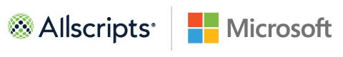 Allscripts and Microsoft Extend Strategic Alliance to Transform Cloud-Based Health IT Solutions