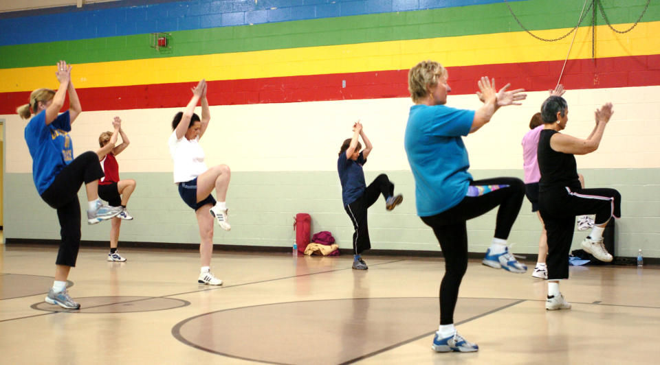 Baby boomers prioritize access to good food and exercise classes when looking for a new home (Doug Jones/Portland Press Herald via Getty Images)