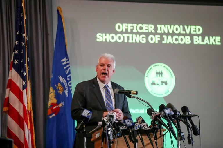 Kenosha District Attorney Michael Graveley announces that no charges will be filed in the August 2020 shooting of Jacob Blake