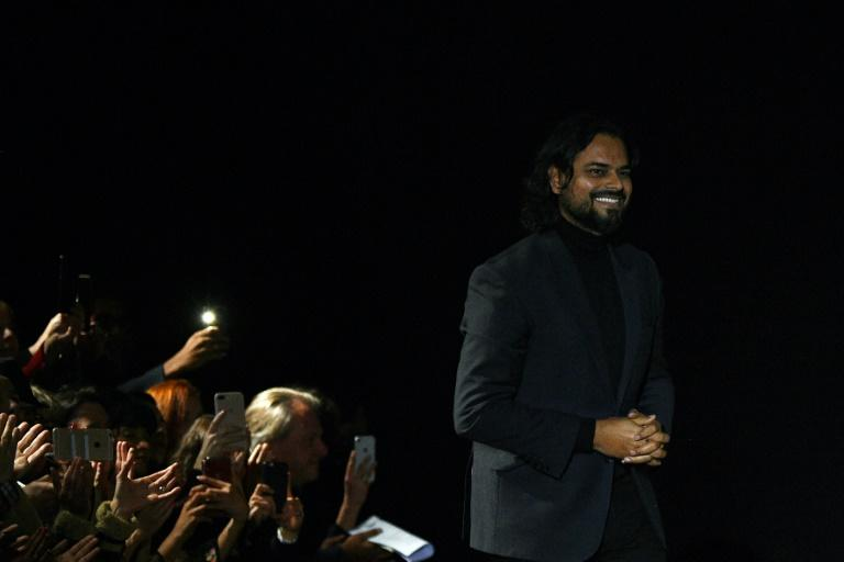 Rahul Mishra has become the first Indian designer to show his clothes on the elite Paris haute couture catwalk