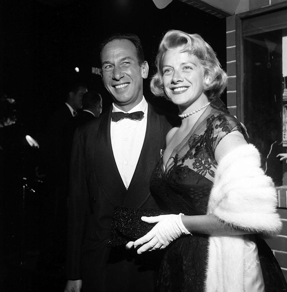 """<p>During the height of her singing and acting career, Rosemary Clooney married José Ferrer in 1953. The couple welcomed five children together before divorcing in 1961. They ended up reconciling after their split and remarried in 1964, but <a href=""""https://www.closerweekly.com/posts/rosemary-clooney-son-fondest-memories-152311/"""" rel=""""nofollow noopener"""" target=""""_blank"""" data-ylk=""""slk:parted ways once again"""" class=""""link rapid-noclick-resp"""">parted ways once again</a> in 1967. </p>"""