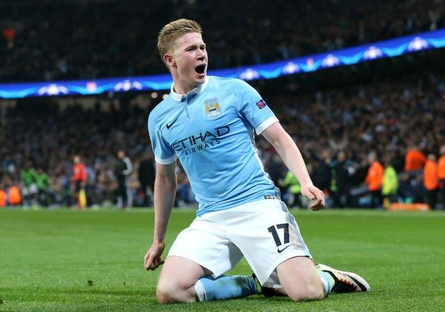 Kevin De Bruyne and his Manchester City team-mates could be crowned Premier League champions this weekend.