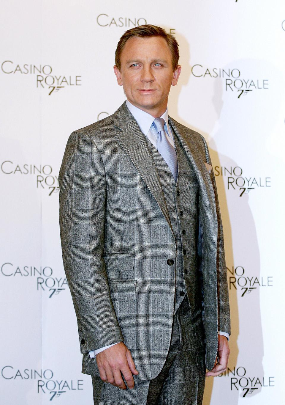 Craig during the promotion for Casino Royale in 2006 (AFP via Getty Images)