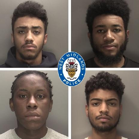 Tyrique King, Brian Sasa Nehemie Tampwo and Zenay Pennant-Phillips have all been convicted. (West Midlands Police)
