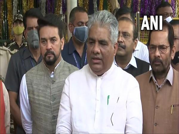 Union Minister for Labour and Employment Bhupender Yadav (Photo/ANI)