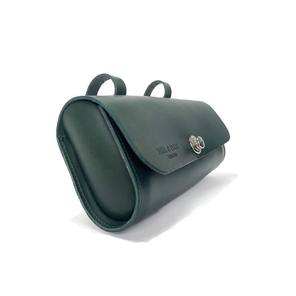 """<p>For those keen cyclists, an Italian leather saddle bag is the ultimate accessory. Designed to attach to a saddle or handlebars, it is the perfect size to fit a phone, keys, a wallet and a flapjack to keep up energy on long rides.</p><p>£80, <a href=""""https://www.hillandellis.com/collections/saddle-bag-scooter-bag/products/racing-green-leather-saddle-bag?variant=32940017680474"""" rel=""""nofollow noopener"""" target=""""_blank"""" data-ylk=""""slk:Hill & Ellis"""" class=""""link rapid-noclick-resp"""">Hill & Ellis</a>.</p>"""