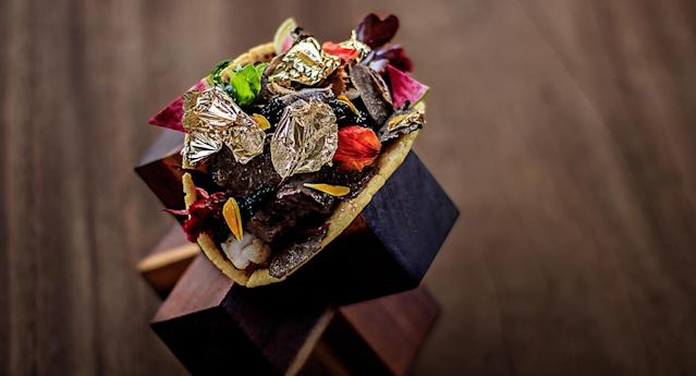 If you like tacos and very, very expensive things, have we got a meal for you. (Grand Velas Los Cabos)