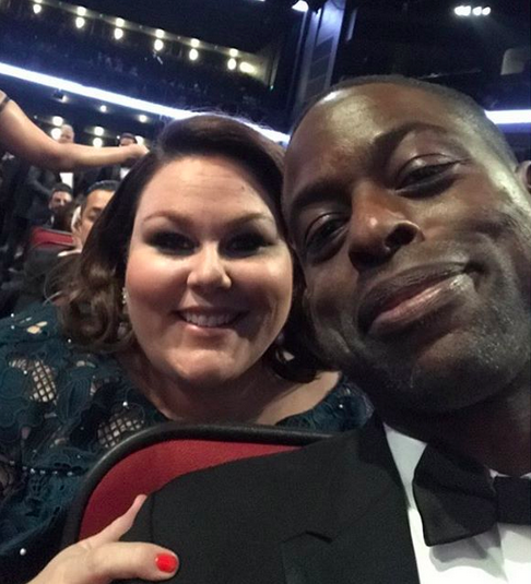 "<p>""S-K-in-the-place-to-B! Congratulations, Mistah!"" the <em>This is Us</em> nominee shouted out her onscreen brother, Sterling K. Brown, who won for Outstanding Lead actor in a Drama Series on Sunday night. ""What an absolute joy to see you take that #Emmy home last night!"" she cheered. ""I am in awe of your talent, brilliant mind and loving heart! You did it, Bruv!"" (Photo: <a href=""https://www.instagram.com/p/BZL5KWtFFXO/?taken-by=chrissymetz"" rel=""nofollow noopener"" target=""_blank"" data-ylk=""slk:Chrissy Metz via Instagram"" class=""link rapid-noclick-resp"">Chrissy Metz via Instagram</a>) </p>"