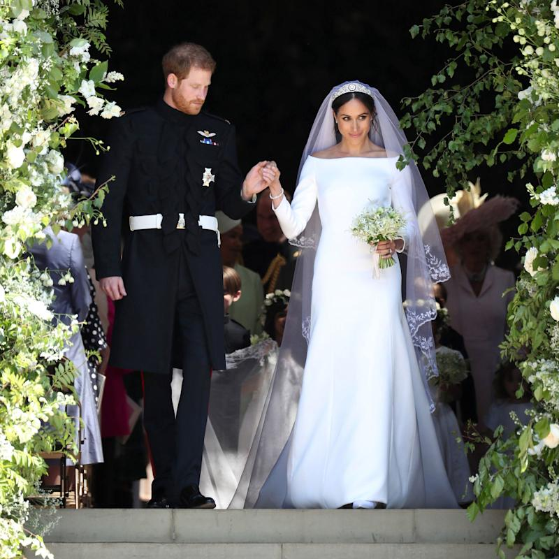See Meghan Mccain S Gorgeous Wedding Dress: Here's How You Can See Meghan, Duchess Of Sussex's Wedding