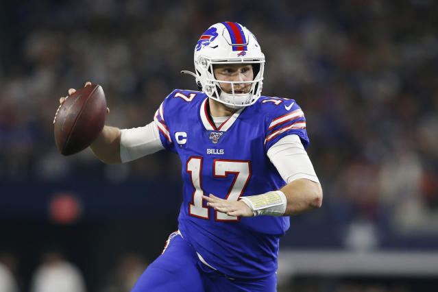 Josh Allen and the Bills passed their Thanksgiving audition against the Cowboys and earned a Week 15 prime-time slot. (Tim Heitman/USA Today)