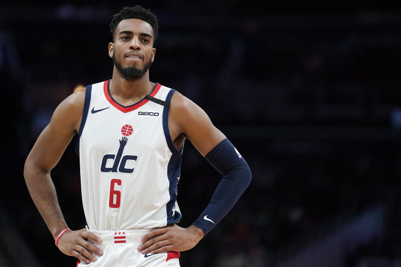 Troy Brown Jr. #6 of the Washington Wizards