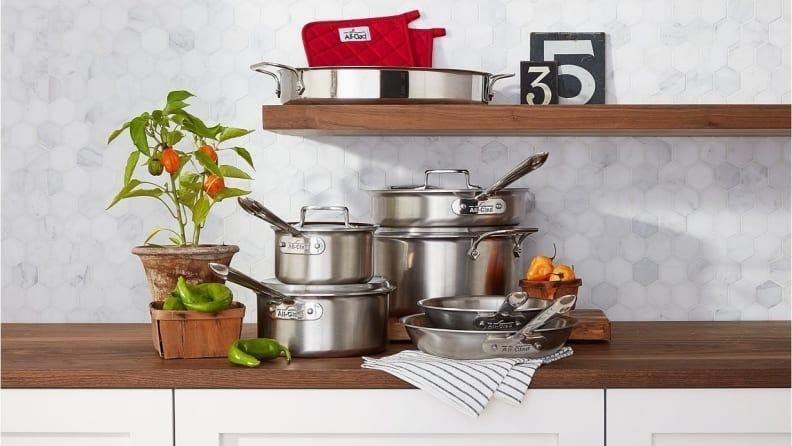 Save big on All-Clad kitchen essentials during the VIP Factory Seconds sale.