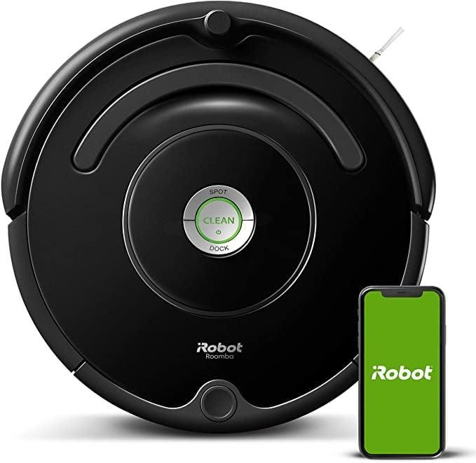 <p>The <span>iRobot Roomba 675 Robot Vacuum</span> ($250) is a must-have for keeping your floors consistently clean. It has wifi-connectivity so you can control it from your phone and through Alexa.</p>