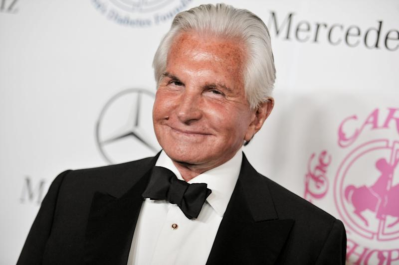 George Hamilton arrives at the 2014 Carousel Of Hope Ball on Saturday, Oct. 11, 2014, in Beverly Hills, Calif.