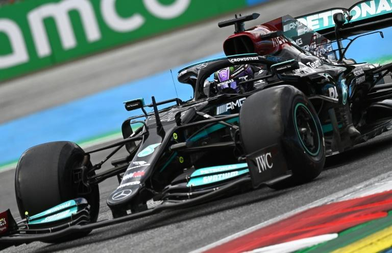 Mercedes' Lewis Hamilton came back from a poor first practice to clock the quickest time of the day ahead of Sunday's Austrian GP