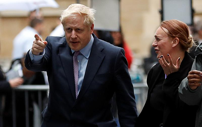 Out by Oct 31. Boris Johnson would leave the EU by that date under his leadership (REUTERS/Peter Nicholls)