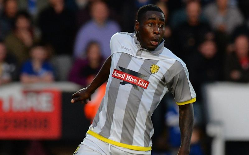 Kelvin Maynard played 10 games for Burton between 2014 and 2016 - Getty Images Europe