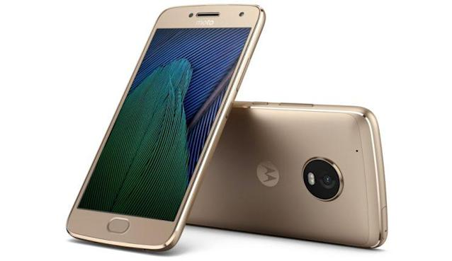 The Moto G5 Plus.