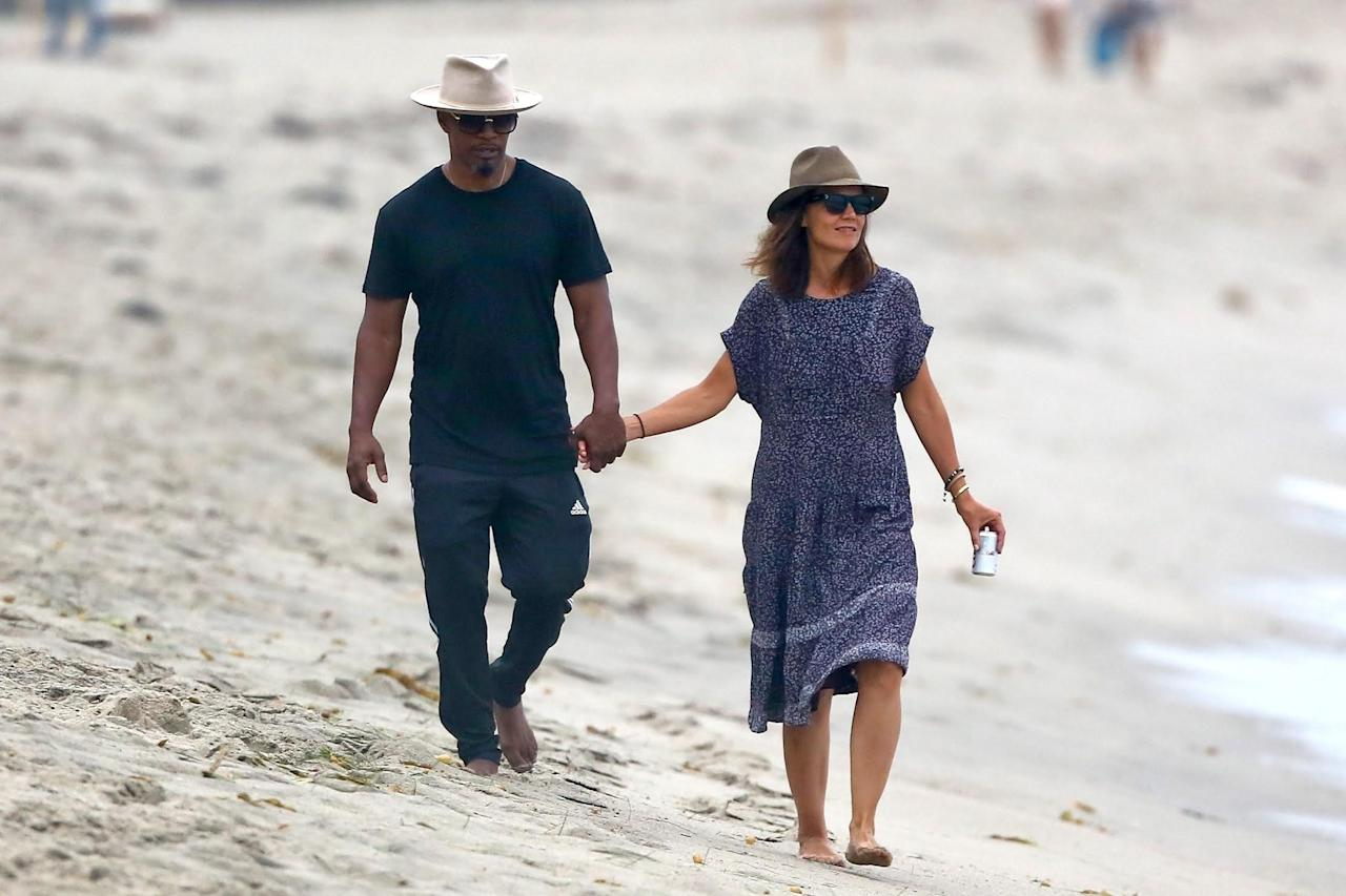 "<p>These two were linked for <em>years</em> and, but shortly after a <a rel=""nofollow"" href=""http://www.nydailynews.com/entertainment/gossip/katie-holmes-jamie-foxx-ready-public-relationship-article-1.3051864"">story</a> popped up in the tabloids about them being ready to go public with their romance, these pics basically hand-delivered. The pair that would travel to the airport in different cars — and otherwise sneak around — took an openly romantic stroll on a busy beach on Labor Day in 2017. (Photo: Backgrid) </p>"