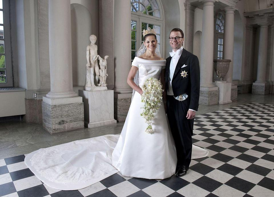 <p>Crown Princess Victoria met gym owner Daniel Westling when he was her personal trainer. They fell in love and were married in June of 2010, despite the royal family's original resistance to their relationship.</p>
