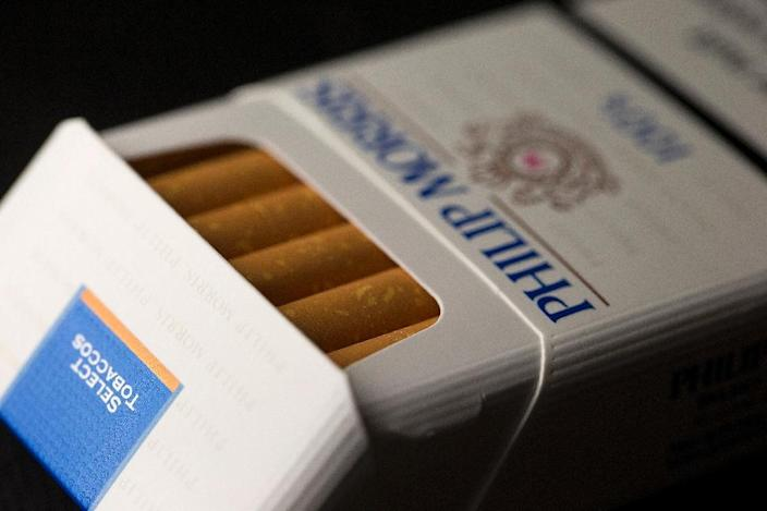 Australia was sued by tobacco giant Philip Morris after it became the first country to introduce plain packaging laws for cigarettes in 2012 (AFP Photo/Joel Saget)