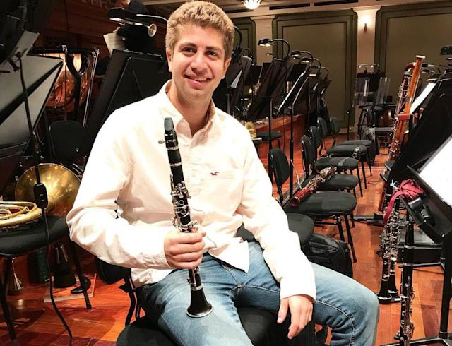 Eric Abramovitz was offered a full-ride scholarship that would make or break his career. (Photo: Facebook/Nashville Symphony)