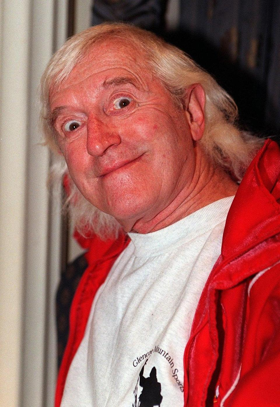 Jimmy Saville was exposed as a predatory sex offender after his death (Peter Jordan/PA) (PA Media)