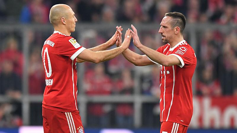 Heynckes pays tribute to 'outstanding' Bayern duo Ribery and Robben