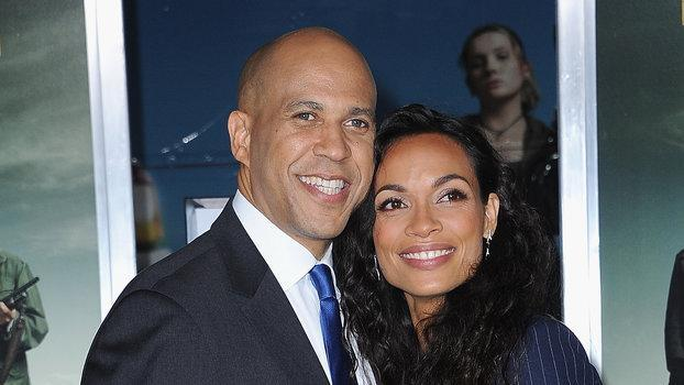 Cory Booker's Supporters Are Disappointed That Rosario Dawson Won't Be First Lady