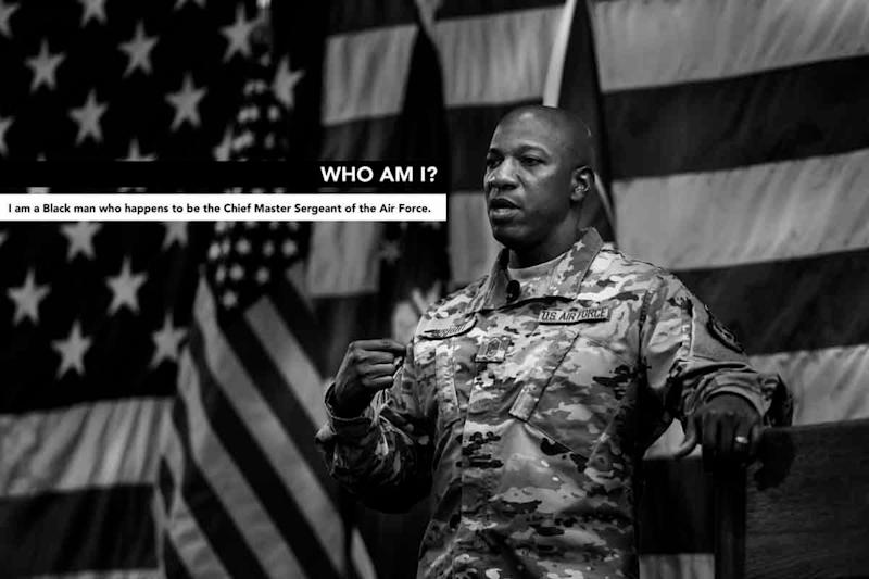 'I Am George Floyd:' Top Enlisted Airman Voices Outrage, Calls for Justice Review