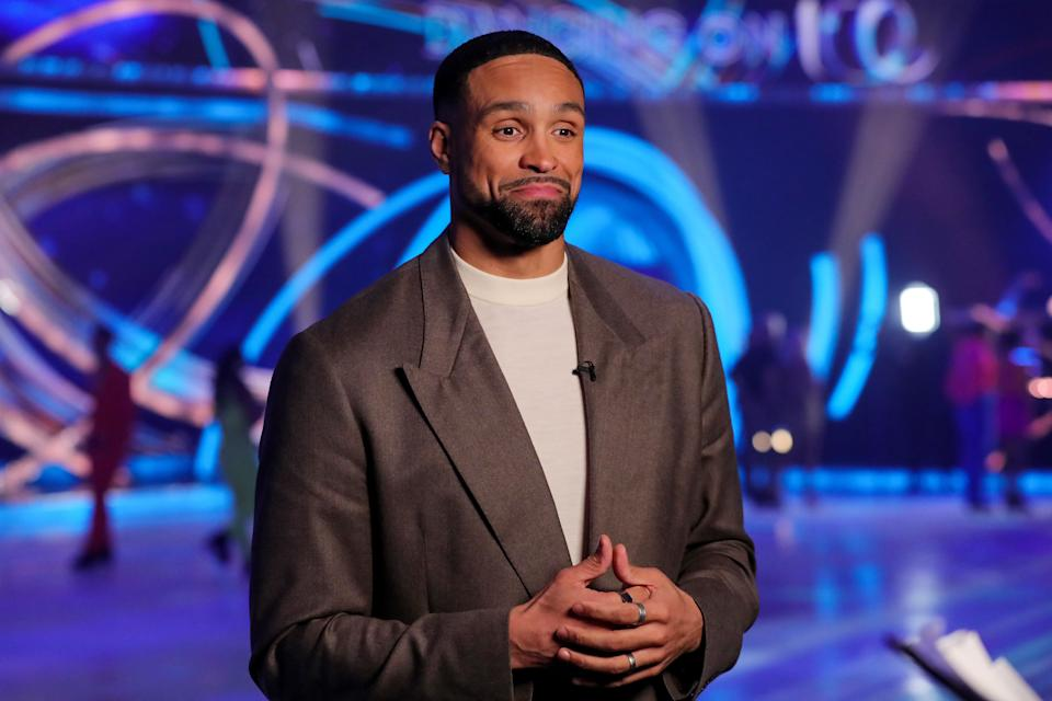 Ashley Banjo is one of the judges on Dancing On Ice (Photo: Matt Frost/ITV/Shutterstock)
