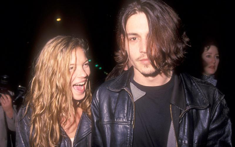 Johnny Depp had a relationship with model Kate Moss - Barry King/WireImage